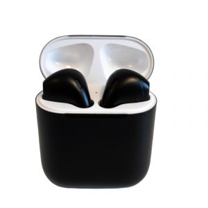 Apple® AirPods matte Black (with Charging Case)